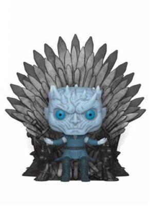 Game of Thrones Night King on Iron Throne POP! Vinylfiguur 15 cm