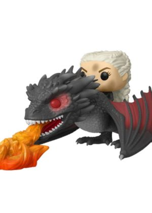 Game of Thrones Daenerys on Fiery Drogon Pop! Figuur