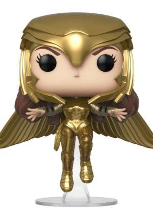 Wonder Woman 1984 Golden Armor Flying POP! Figuur