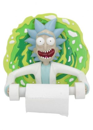 Rick and Morty Toilet Roll Holder