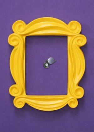 Friends Peephole Fotolijst