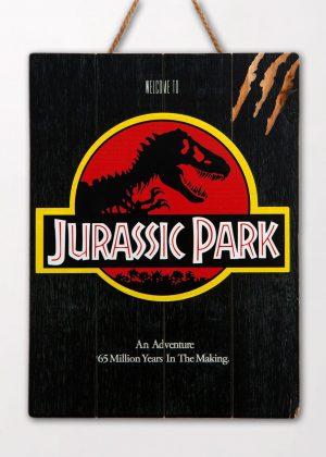 Jurassic Park Wanddecoratie